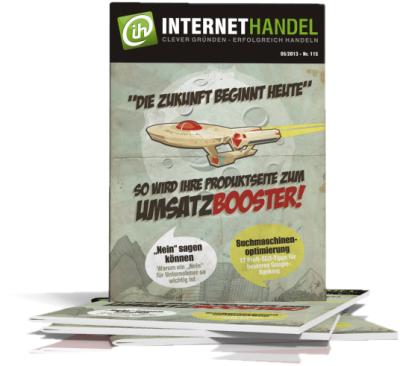 INTERNETHANDEL Nr. 15 05/2013 - So wird Ihre Produktseite zum Umsatzbooster