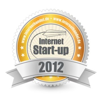 INTERNETHANDEL Start-up des Jahres 2012-Award