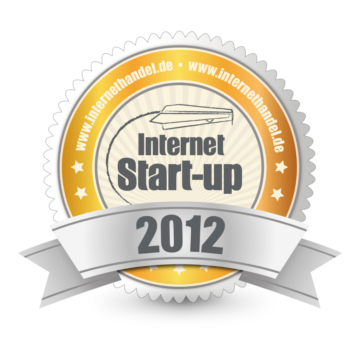INTERNETHANDEL Start-up des Jahres 2012-Award